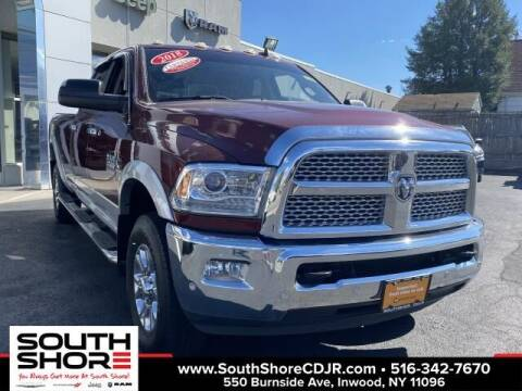 2018 RAM Ram Pickup 3500 for sale at South Shore Chrysler Dodge Jeep Ram in Inwood NY
