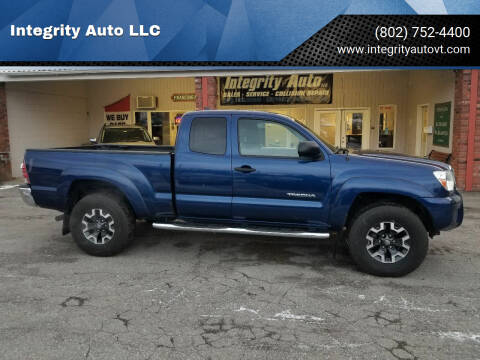 2014 Toyota Tacoma for sale at Integrity Auto LLC - Integrity Auto 2.0 in St. Albans VT