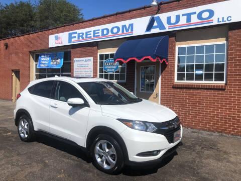 2016 Honda HR-V for sale at FREEDOM AUTO LLC in Wilkesboro NC