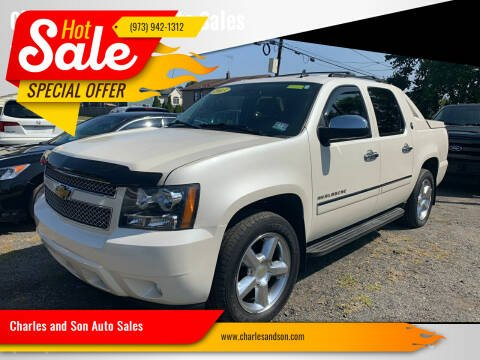 2013 Chevrolet Avalanche for sale at Charles and Son Auto Sales in Totowa NJ