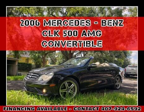 2006 Mercedes-Benz CLK for sale at AFFORDABLE ONE LLC in Orlando FL