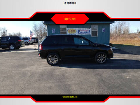 2014 Jeep Compass for sale at E & H Auto Sales in South Haven MI