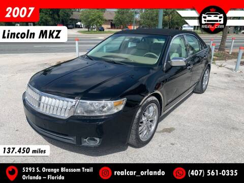 2007 Lincoln MKZ for sale at Real Car Sales in Orlando FL