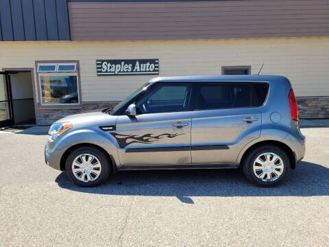 2013 Kia Soul for sale at STAPLES AUTO SALES in Staples MN