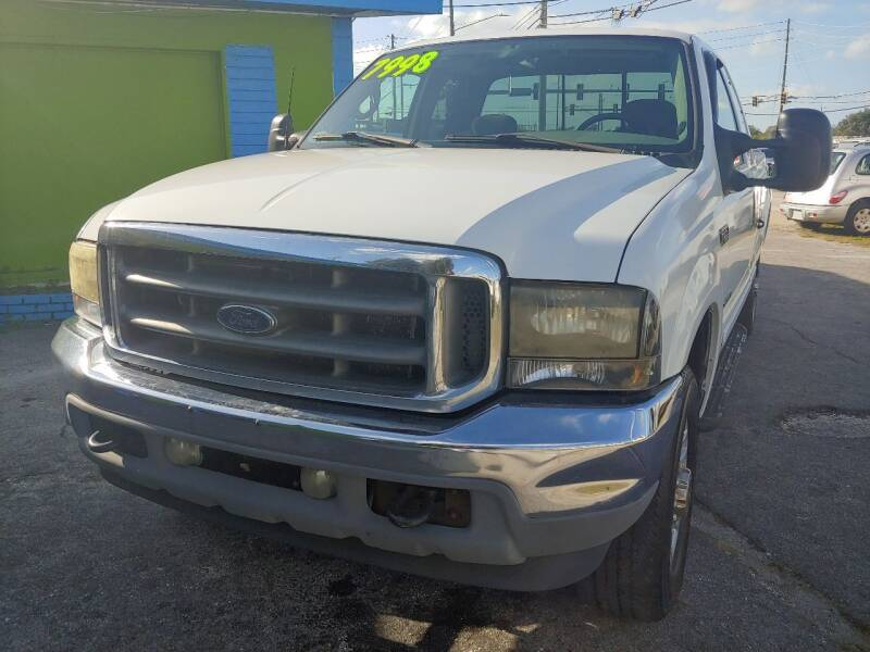 2002 Ford F-250 Super Duty for sale at Autos by Tom in Largo FL
