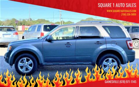 2011 Ford Escape for sale at Square 1 Auto Sales in Commerce GA