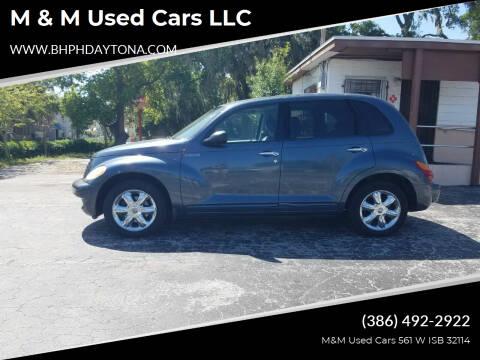 2003 Chrysler PT Cruiser for sale at M & M Used Cars LLC in Daytona Beach FL
