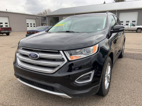 2017 Ford Edge for sale at Blake Hollenbeck Auto Sales in Greenville MI