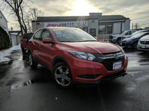 2016 Honda HR-V for sale at PAYLESS CAR SALES of South Amboy in South Amboy NJ