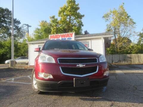 2010 Chevrolet Traverse for sale at Midway Cars LLC in Indianapolis IN