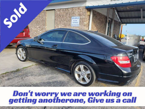 2013 Mercedes-Benz C-Class for sale at RIVERCITYAUTOFINANCE.COM in New Braunfels TX
