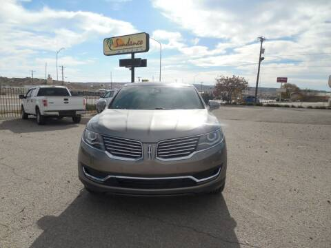 2017 Lincoln MKX for sale at Sundance Motors in Gallup NM