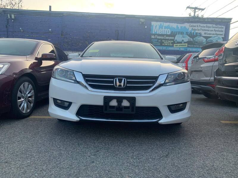 2015 Honda Accord for sale at Metro Auto Sales in Lawrence MA