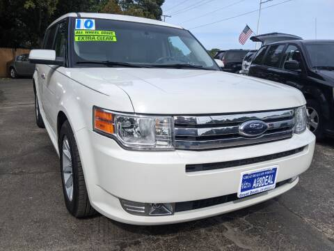 2010 Ford Flex for sale at GREAT DEALS ON WHEELS in Michigan City IN