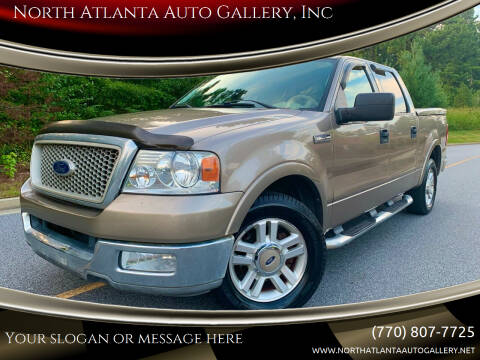 2004 Ford F-150 for sale at North Atlanta Auto Gallery, Inc in Alpharetta GA