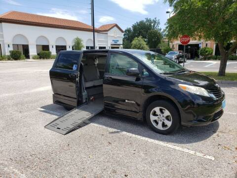 2011 Toyota Sienna for sale at Burhill Leasing Corp. in Dayton OH