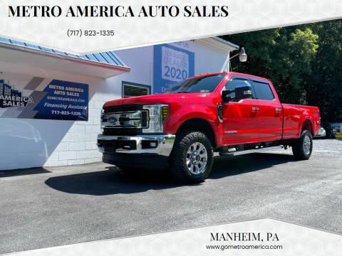 2019 Ford F-250 Super Duty for sale at METRO AMERICA AUTO SALES of Manheim in Manheim PA