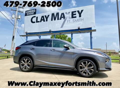 2017 Lexus RX 350 for sale at Clay Maxey NWA in Springdale AR