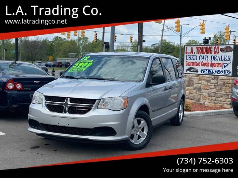 2012 Dodge Grand Caravan for sale at L.A. Trading Co. Woodhaven in Woodhaven MI