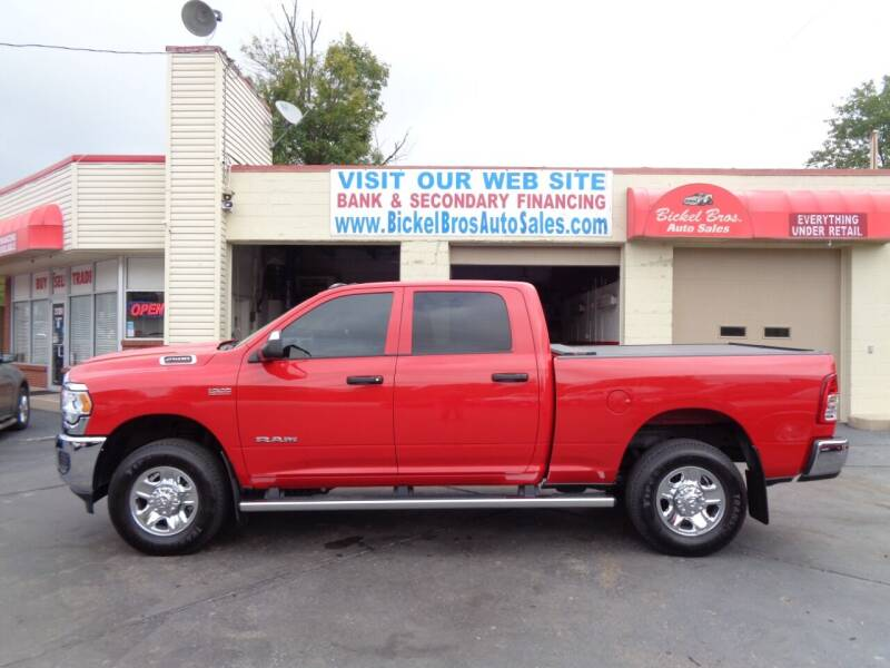 2021 RAM Ram Pickup 2500 for sale at Bickel Bros Auto Sales, Inc in Louisville KY