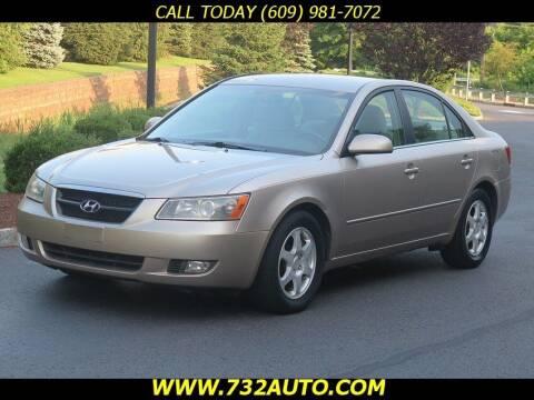 2006 Hyundai Sonata for sale at Absolute Auto Solutions in Hamilton NJ