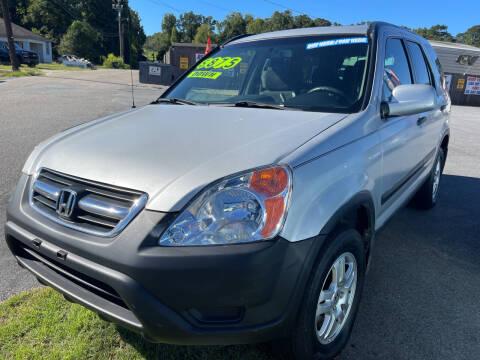 2002 Honda CR-V for sale at Cars for Less in Phenix City AL