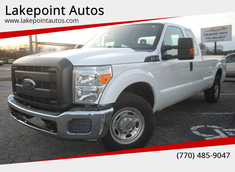 2012 Ford F-250 Super Duty for sale at Lakepoint Autos in Cartersville GA