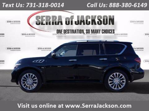2015 Infiniti QX80 for sale at Serra Of Jackson in Jackson TN