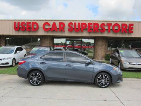2016 Toyota Corolla for sale at Checkered Flag Auto Sales NORTH in Lakeland FL