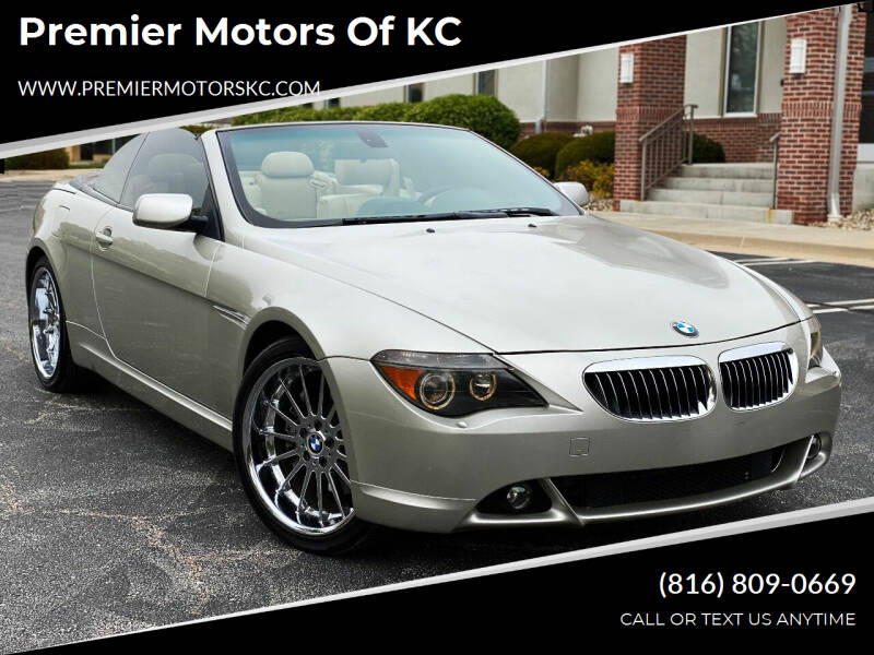 2004 BMW 6 Series for sale at Premier Motors of KC in Kansas City MO