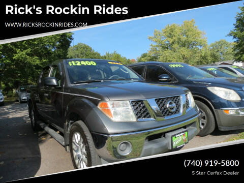 2007 Nissan Frontier for sale at Rick's Rockin Rides in Reynoldsburg OH