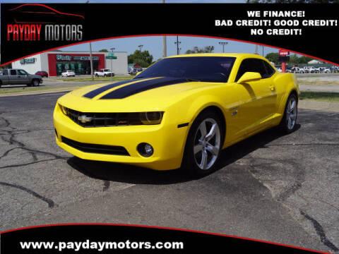 2012 Chevrolet Camaro for sale at Payday Motors in Wichita KS