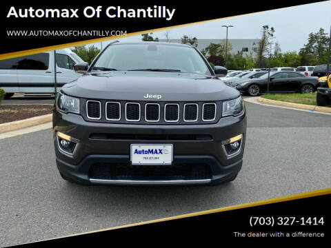 2020 Jeep Compass for sale at Automax of Chantilly in Chantilly VA