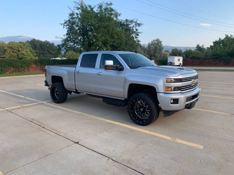 2018 Chevrolet Silverado 2500HD for sale at Hoskins Trucks in Bountiful UT