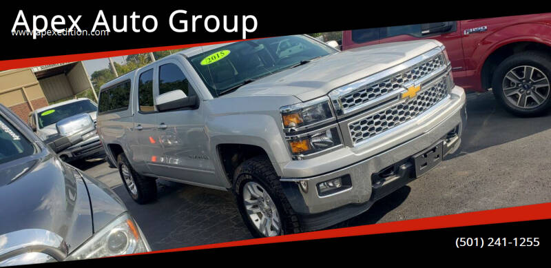 2015 Chevrolet Silverado 1500 for sale at Apex Auto Group in Cabot AR