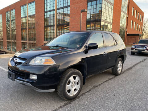 2006 Acura MDX for sale at Auto Wholesalers Of Rockville in Rockville MD