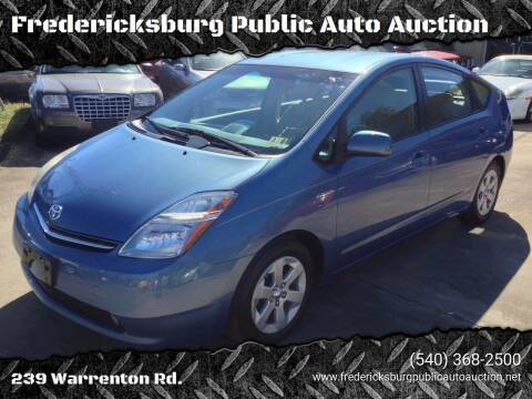 2008 Toyota Prius for sale at FPAA in Fredericksburg VA