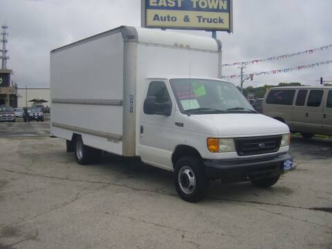 2005 Ford E-Series Chassis for sale at East Town Auto in Green Bay WI