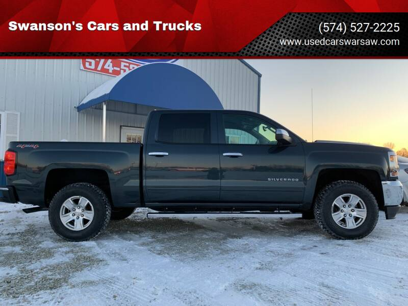 2017 Chevrolet Silverado 1500 for sale at Swanson's Cars and Trucks in Warsaw IN