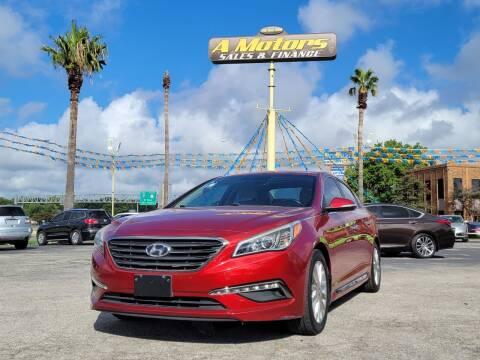 2015 Hyundai Sonata for sale at A MOTORS SALES AND FINANCE in San Antonio TX