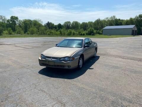 2003 Chevrolet Monte Carlo for sale at Caruzin Motors in Flint MI
