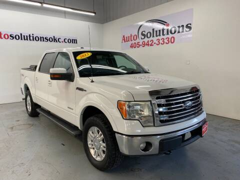 2013 Ford F-150 for sale at Auto Solutions in Warr Acres OK