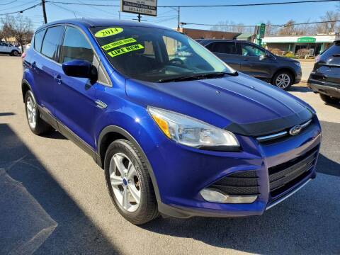 2014 Ford Escape for sale at Greenville Auto Sales in Warwick RI