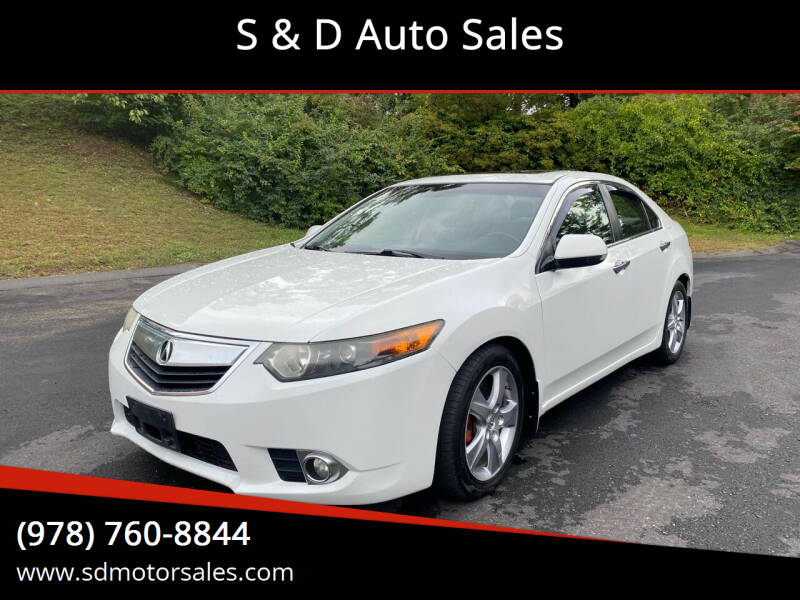 2012 Acura TSX for sale at S & D Auto Sales in Maynard MA