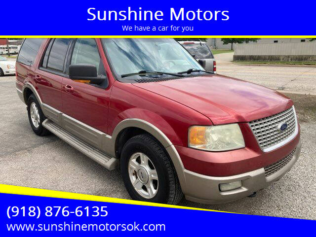 2004 Ford Expedition for sale at Sunshine Motors in Bartlesville OK