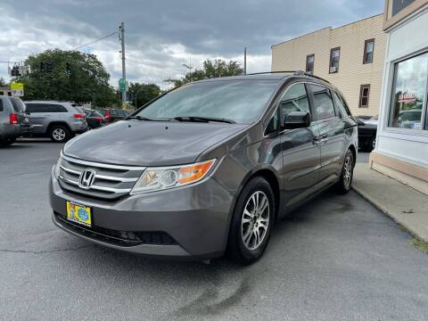 2012 Honda Odyssey for sale at ADAM AUTO AGENCY in Rensselaer NY