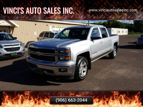 2015 Chevrolet Silverado 1500 for sale at Vinci's Auto Sales Inc. in Bessemer MI