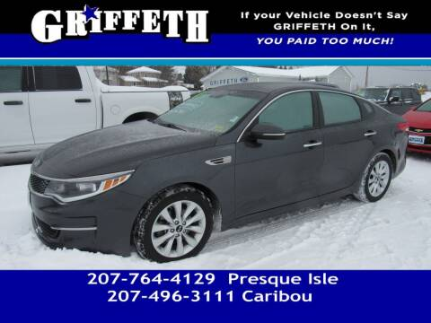2017 Kia Optima for sale at Griffeth Mitsubishi - Pre-owned in Caribou ME