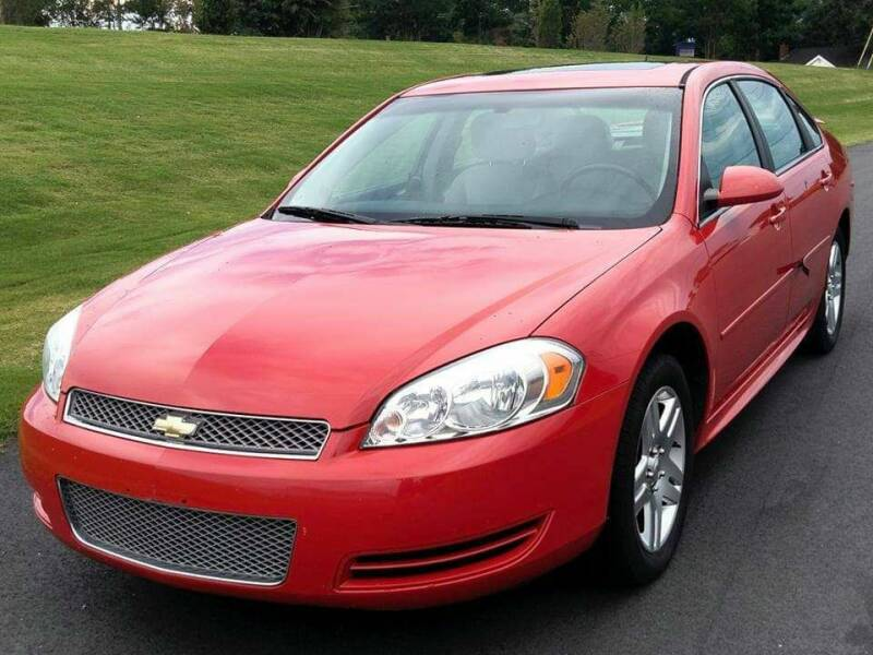 2012 Chevrolet Impala for sale at Happy Days Auto Sales in Piedmont SC
