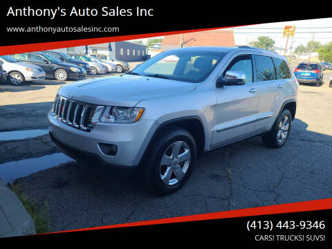 2011 Jeep Grand Cherokee for sale at Anthony's Auto Sales Inc in Pittsfield MA